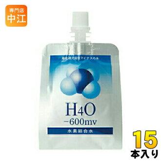 H4O日本-600mv氢结合水230ml 15条装