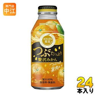 充足奢侈颗橘子400g瓶罐本入〔橙汁奢侈札幌果实的24〕