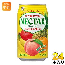 伊藤園 不二家 ネクターミックス 350g 缶 24本入