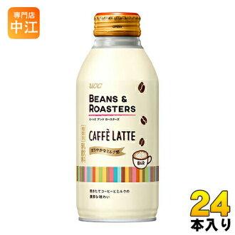 UCC 咖啡豆烘焙 CAFFELATTE 375 g 瓶罐 24 件 [拿铁]