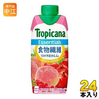 麒麟纯品康纳要点食物纤维 330 毫升纸包 12 件 x 2 一起买 [要点纯品康纳桃混合桃混合混合汁膳食纤维。