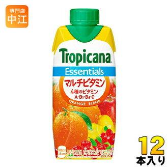 麒麟纯品康纳要点多维生素 330 毫升纸包 12 件 [要点纯果乐橙混合果汁维生素 C 果汁维生素维生素 b。