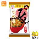 永谷園 フリーズドライ ひるげ なめこ 30食(6食×5 まとめ買い)