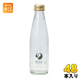 友桝飲料 n.e.o(neo ネオ)プレミアムトニックウォーター 200ml 瓶 48本 (24本入×2 まとめ買い)