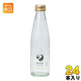 友桝飲料 n.e.o(neo ネオ)プレミアムトニックウォーター 200ml 瓶 24本入