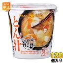 ひかり味噌 カップみそ汁 まろやかな旨みと香り とん汁 120個 (60個入×2 まとめ買い)