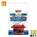 UCC ゴールドスペシャル アイスコーヒー 粉 320g 12袋(6袋×2 まとめ買い)〔コーヒー〕