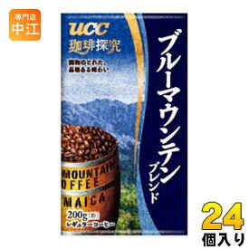 UCC 珈琲探究 ブルーマウンテンブレンド 粉 200g 24個入 〔コーヒー〕