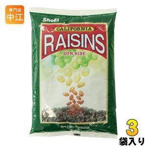 〔クーポン配布中〕正栄食品 サンライズレーズン 1kg 3袋 (1袋入×3 まとめ買い)〔デザート〕