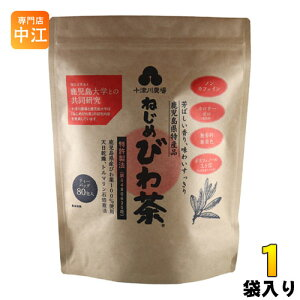 十津川農場 ねじめびわ茶 ティーバッグ 2g×80バック 1袋入