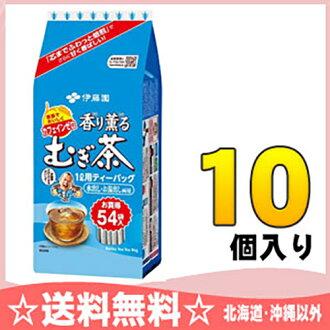 Itoen 香香 mugicha 茶 54 × 10 袋 [从咸水淹规律及大麦茶茶叶袋水]