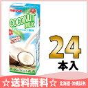 マルサン ココナッツミルク飲料 200ml紙パック 24本入〔ココナッツ ココナッツ飲料 椰子汁〕