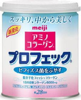 Canned Meiji Seika アミノコラーゲンプロフェック 200 g ten case [type net Colla powder type]