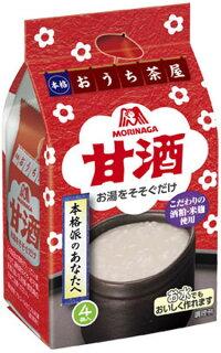 森永製菓フリーズドライおうち茶屋甘酒4食×10袋入