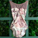 Luckyleo ACORN ラッキーレオ ダスクローズ バレエ レオタード 大人 花柄 エレガント かわいい 素敵 綺麗 おしゃれ ピンク パープル