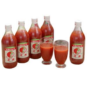 ふるさとの元気 とまとジュース 500mlx5本セット発売元:福山醸造