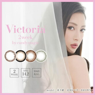 The degreeless 14.2mm greens cord victoria color contact mail order which there is a temporary expedient in for candy magic Victoria 2week one six pieces colored contact lens 2week two weeks