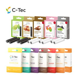 【P最大20倍UP中】C-Tec DUO フレーバーカートリッジ (メール便送料無料) 電子タバコ USB充電式ミストサプリ シーテックデュオ 副流煙0