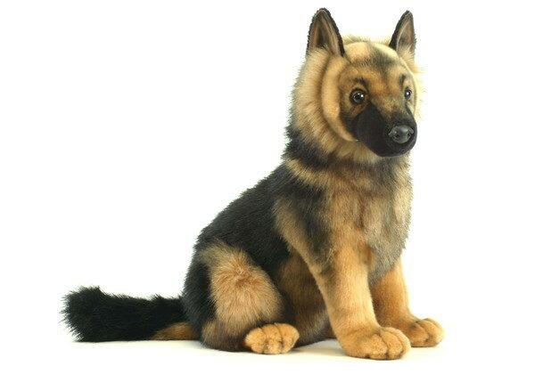 HANSA(ハンサ) シェパード子犬 >> ぬいぐるみ ヌイグルミ 動物 アニマル リアル 本物そっくり インテリア フィギュア 【メーカー直送品】 メーカー直送の為、代金引換・他商品との同梱はできません。