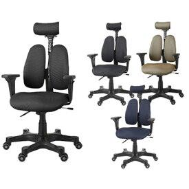 【P最大20倍UP中】DUOREST デュオレスト DR-7501SP(送料無料)【正規販売店】【メーカー直送品】デスクチェア パソコンチェア オフィスチェア 布地 ヘッドレスト ロッキングチェア パソコンチェア いす イス 椅子 chair 背中 腰 防止