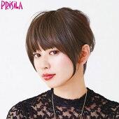 前髪ウィッグサイドありちゃんFX-05(PRISILAプリシラウィッグ)ウィッグウイッグつけ毛ウィック部分ワンタッチ