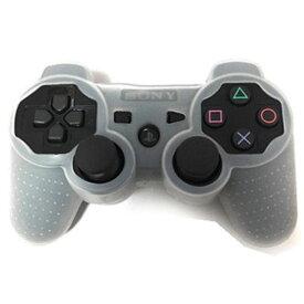 [送料無料]SONY PS3コントローラー用保護シリコンケースカバー 全4色(ブラック黒色/ホワイト白色/レッド赤色/グレー灰色) [Playstation3 ソニー プレステ3 周辺機器 汚れ防止 操作機本体保護]