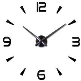 ★[送料無料][3色]シンプルモダンな セパレートクロック(時計 壁掛け 掛け時計 かけ時計 贈り物 インテリア デザイン 掛時計 壁掛け時計 DIY クロック オフィス モノトーン ブラック ゴールド シルバー)