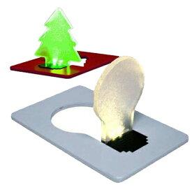 [送料無料]薄さ約3mmの便利なカードサイズでモダンなデザインの電球型ポケットLEDライトWallet nite lite(ウォレット ナイトライト)カラー入荷(色不問)