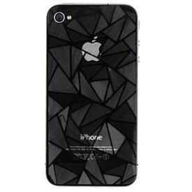 [送料無料]3Dデコレーションダイヤモンド小粒ラメ仕様iPhone4S/iPhone4液晶保護背面フィルムシート汚れ指紋が目立たないスクリーンプロテクター保護フィルムAppleiPhone4S/iPhone4アイフォンケース[iphoneケースカバー][iPhoneアクセサリー]モデル番号A1431A1387A1349A1332