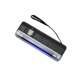 [送料無料]持ち運びに便利な小型携帯用のブラックライト 4W蛍光灯タイプのブラックライトとミニホワイトライト形 懐中電灯と切替可能な2WAYタイプ お札の鑑定/カードのホノグラムのチェック/蛍光ペン催し物会場/再入場チェック