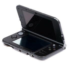 [送料無料]液晶画面保護シートも付いてくるNintendo Newニンテンドー3DS LL/旧3DS LL用クリスタルカバーケース+液晶保護シート豪華セット 大切なNintendo 3DSを埃や傷や汚れから守るクリア仕様だから外観を損なわず本体をカバー/デコ可能 透明素材 きせかえプレート対応