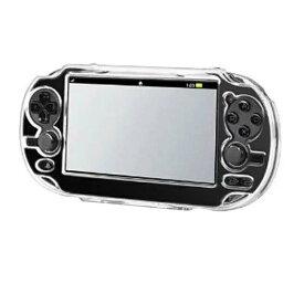 [送料無料]旧型PSV PCH-1000 液晶画面保護シートも付いてくるSony Playstation Vita(PS Vita)専用クリスタルカバーケース+液晶保護シート豪華セット 大切なPlaystation Vitaを埃や傷や汚れから守るクリア仕様だから外観を損なわず本体をカバー/デコ用にも使用可能