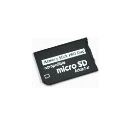 [送料無料]microSD(マイクロSD)カード/microSDHCカード→Memory Stick メモリースティック メモステ MS PRO DUO 変換アダプター SONY(ソニー)製 VAIO デジタルカメラ デジタル一眼カメラ ビデオカメラ PSP-1000 PSP-2000 PSP-3000 スロット 1GB/2GB/4GB/8GB/16GB/32GB対応