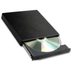 ★[送料無料]全てのノートPCにUSB外付DVDドライブ USB端子から電源供給なのでACアダプタ不要 ダブルUSB給電 携帯性バツグンのネットブック(UMPC)に最適なスリム&軽量CDドライブモデル(DVD/CD読込専用 WindowsXP/Vista/7/8対応 プラグアンドプレイ機能)