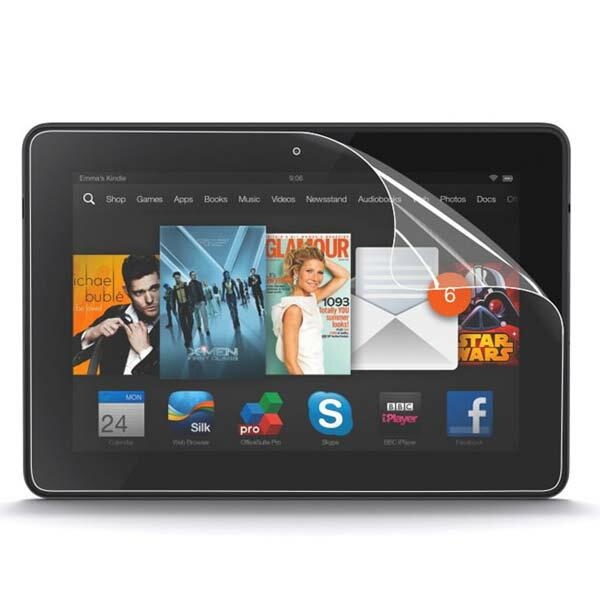 [送料無料]Kindle Fire HDX 8.9用 Kindle Fireシリーズ最新モデル 8.9インチ大型HDディスプレイ タブレットPC/電子書籍リーダー端末用 アンドロイド(Android) 端末 汎用 液晶 画面 保護 フィルム シート