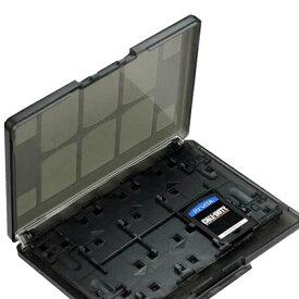 [送料無料][最大18枚収納]PSvita用カード/メモリーカードを収納可能なカードケース 大容量なのに薄型軽量 クリア素材で収納したままゲームタイトル確認可能 ソフト出し入れ簡単 Sony Playstation Vita プレイステーション ヴィータ PCH-1000/PCH-2000[ホワイト/ブラック]