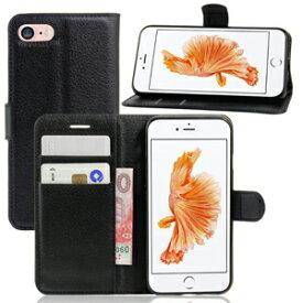 [送料無料]iPhone7/iPhone8保護カバーケースPU革レザータイプ手帳型カード収納機能付きフリップケースお札収納ポケット付きアイフォン78スマホケース手帳型32GB64GB128GB256GBdocomoausoftbankSIMフリー機種対応4.7型4.7インチモデル番号:A1660A1778A1779A1863A1905A1906