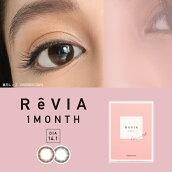 ReVIA1month/CIRCLE度なし2枚入り[レヴィア1カ月度なし大人カラコン]
