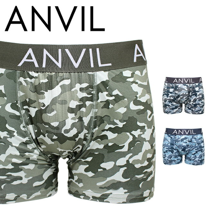 【メール便は2点まで】 ANVIL アンビル ボクサーパンツ メンズ ポリエステル ANV5205