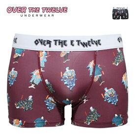 OVER THE TWELVE オーバーザトゥエルブ ボクサーパンツ PSYPAISLEY メンズ 19-19