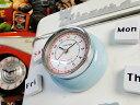 ダルトン キッチンクロック(ブルー) ■アメリカ雑貨 アメリカン雑貨 アメ雑貨 dulton インテリア 雑貨 かわいい 生…