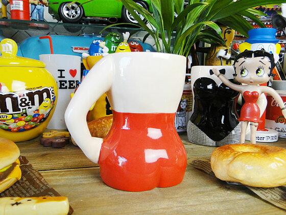 バニーガールマグカップ(ボディコンマグ)★アメリカ雑貨★アメリカン雑貨