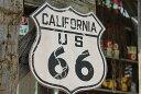 新品だけど「味」がある、木製看板。昔のルート66のウッドサイン(ルート66/カリフォルニア) ■ 木製 ウッド アメリ…