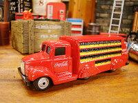 コカ・コーラブランドボトルトラックのミニカー1/87スケール(1937年モデル)★アメリカ雑貨★アメリカン雑貨