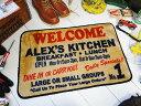 アメリカンインテリアマット アレックス キッチン アメリカ アメリカン インテリア