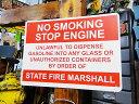 アメリカのプラスチックサインボード ヘビーオンスタイプ(禁煙/エンジンを止めて下さい) ■ アメリカ雑貨 アメリカ…