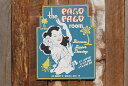 昔のアドバタイジングのハワイアンウッドサイン(パゴパゴ) ■ アメリカ雑貨 アメリカン雑貨 通販 ハワイ 雑貨 ハワ…