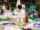 宇宙飛行士のメガネスタンド ■ アメリカ雑貨 アメリカン雑貨