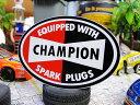 ミニレーシングステッカー チャンピオン・スパークプラグ ■ 自分仕様だから愛着も強くなる! 世田谷ベース 人気のア…