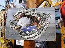 イーグルクラッシュのU.S.ヘヴィースチールサイン ■ 本場のアメリカから直輸入! アメリカ雑貨 アメリカン雑貨 イン…